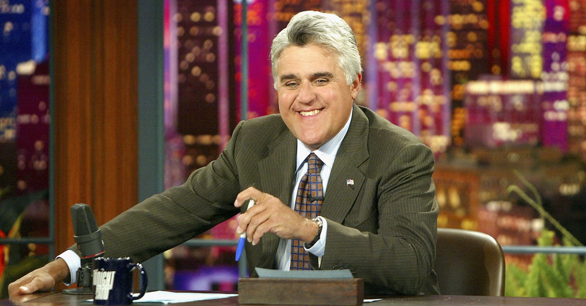 Jay Leno has held two jobs at once since he was 16—here's why