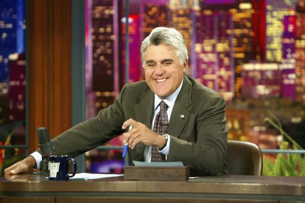 "Jay Leno hosted ""The Tonight Show"" from 1992 to 2014"