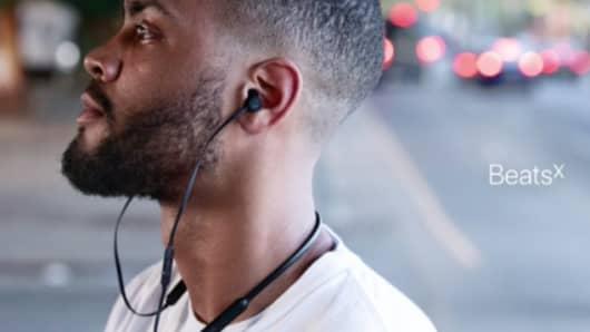 Apple Beats X Earphones.