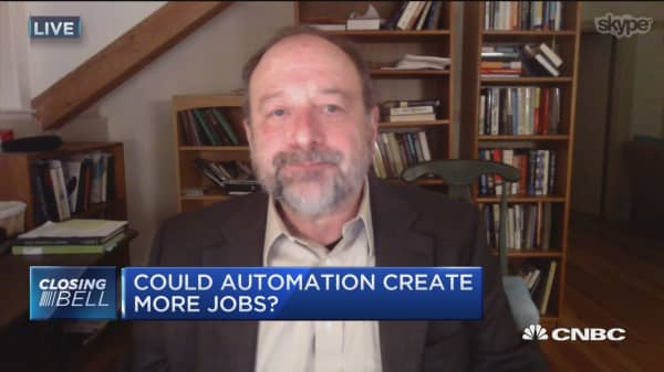 Could automation create more jobs?