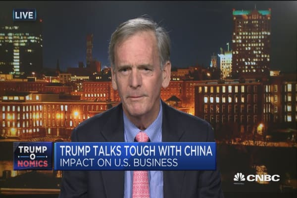 Will China be Trump's first crisis?
