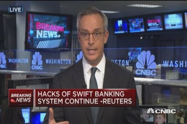 Hacks of Swift banking system continue: Reuters