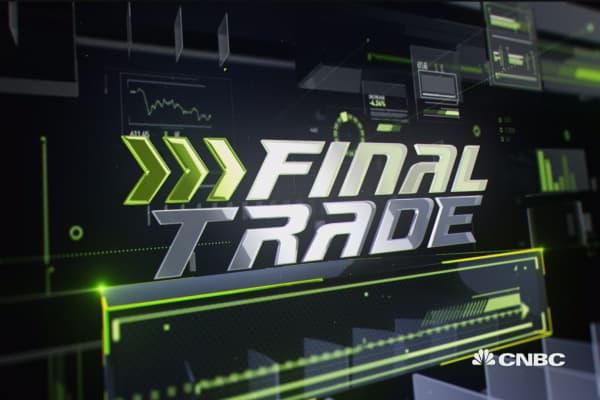 Final Trade: YNDX, ABX, TLT,