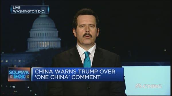 Trump stumps China?