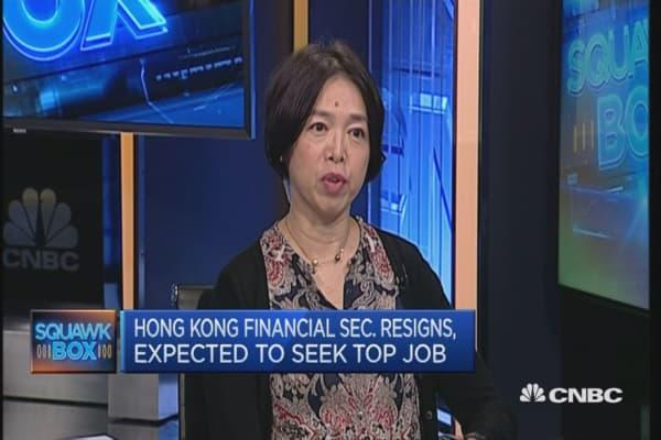 John Tsang playing it cautiously: Academic