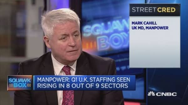 UK hiring prospects continue to strengthen: Manpower UK