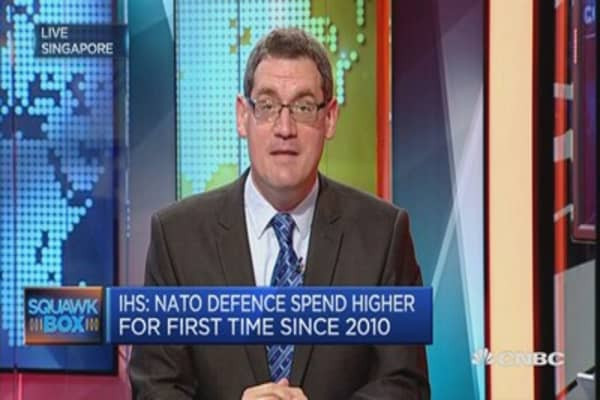 US defense budget is about 40% of global budget: IHS
