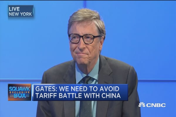 Bill Gates: Trump won't want to get into tariff 'tit for tat' with China
