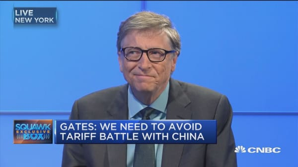 Bill Gates: Certainly stocks are expensive but look at rates