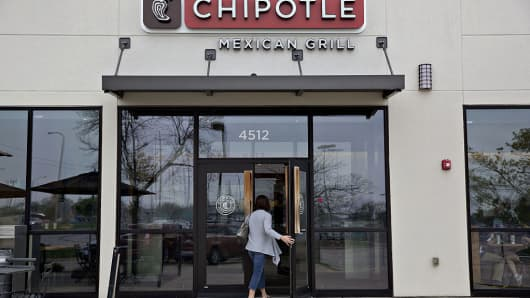 Chipotle Mexican Grill Inc. restaurant in Peoria, Illinois.