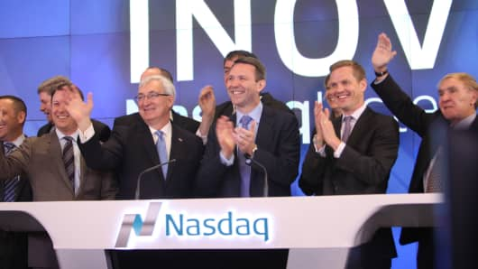 Inovalon Holdings opened for trading on the Nasdaq Stock Market, February 12, 2015.