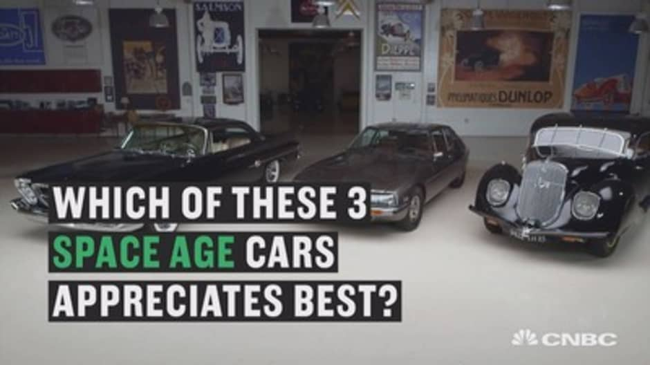 Jay Leno finds out which space-age car appreciates best