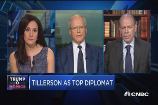 Jeffrey: Tillerson meets all qualifications to be good secretary of state
