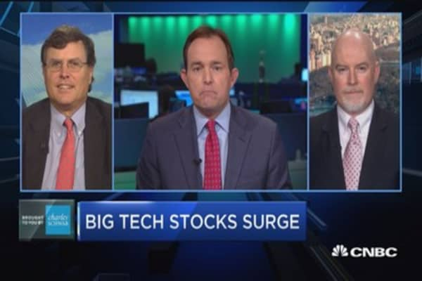 Trading Nation: Big tech stocks surge