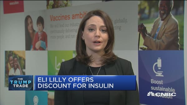 Eli Lilly offers discount for insulin