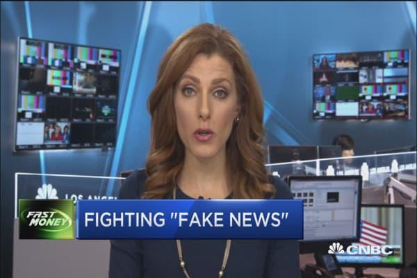 Advertisers take on fake news