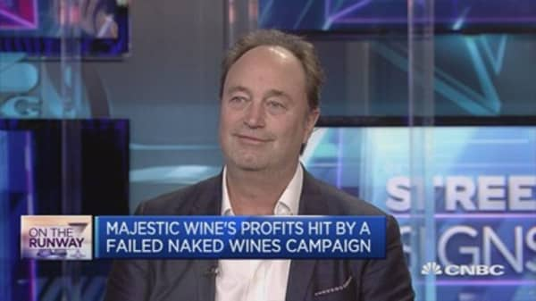UK's largest wine company must adapt to uncertainty: CEO