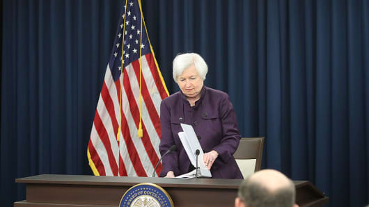 Janet Yellen chair of the U.S. Federal Reserve