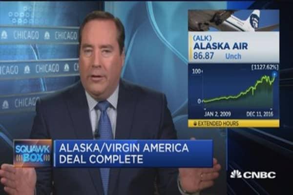 Alaska Air, Virgin America merger done deal