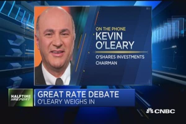 O'Leary on the markets: Markets heading higher?