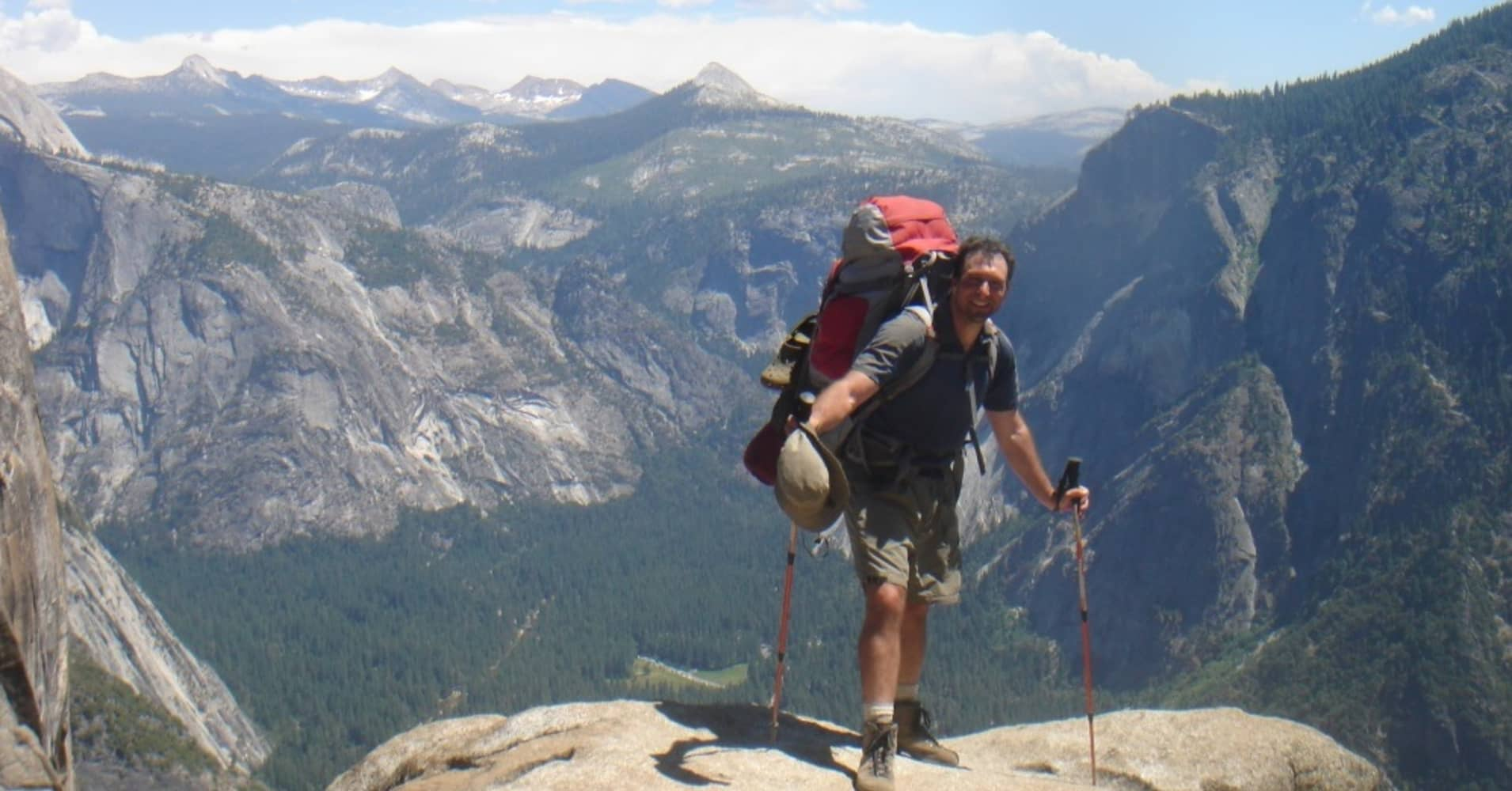 Steve Silberberg is the founder of Fitpacking Weight Loss Backpacking Adventures.