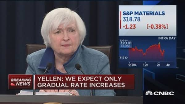 Yellen: Fiscal policy not obviously needed for full employment