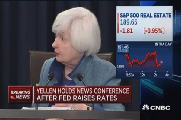 Yellen: Do not recommend running a 'hot economy'