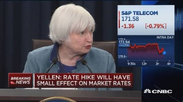 Yellen: Important to tailor regulation to systemic risk profiles