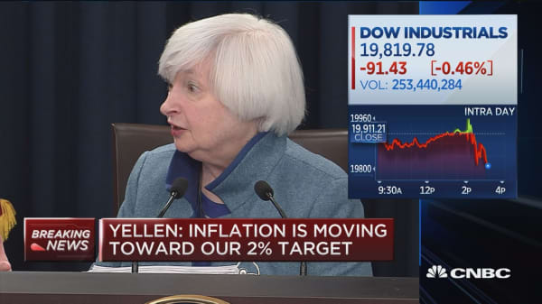 Yellen: Considerable uncertainty about Trump's economic policies