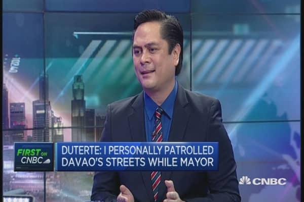 Don't take Duterte literally: Philippine CommSec