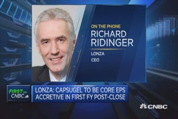 Capsugel deal isn't a short-term move: Lonza CEO