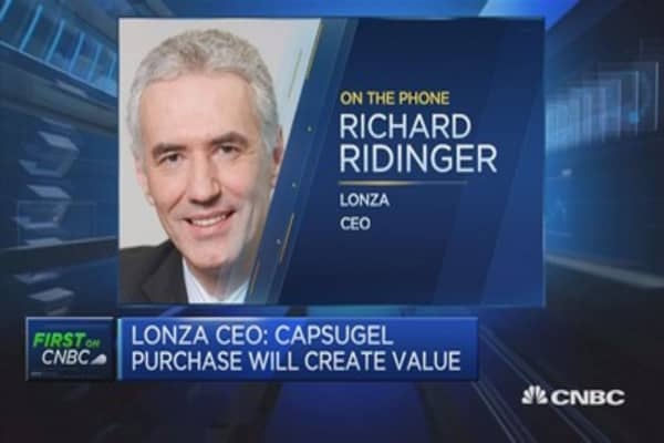 Capsugal purchase will create value: Lonza CEO