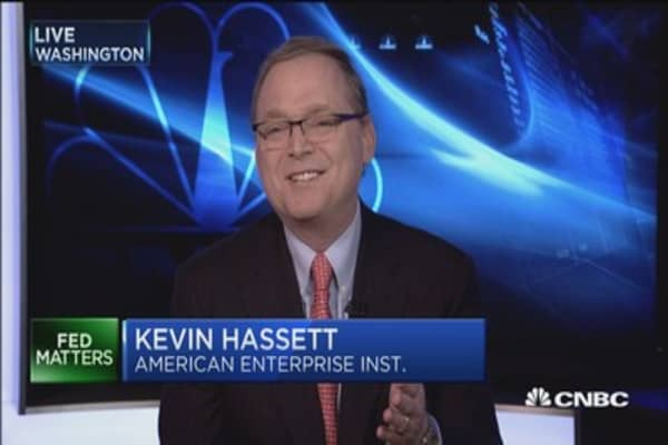 Fed hikes rates but didn't change forecast: Kevin Hassett
