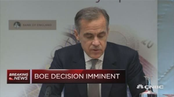 BOE will only think about tightening well into Brexit negotations: Economist