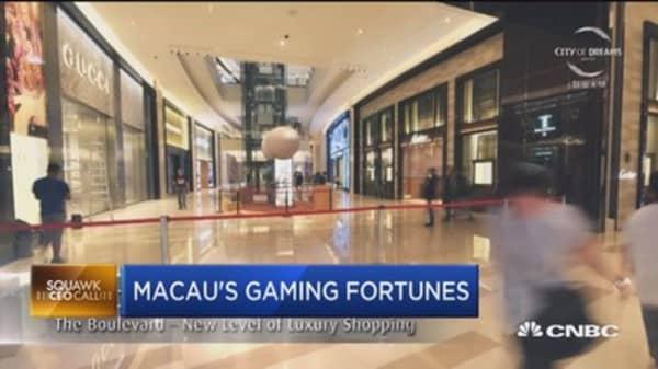 Macau's big bet on gaming
