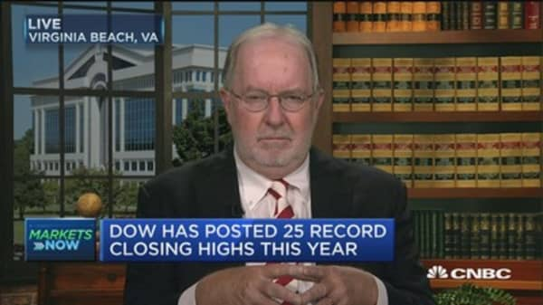 Fed tightening will likely squeeze fed fund rates higher: Dennis Gartman