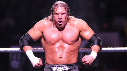 WWE superstar Triple H.