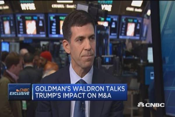 Goldman's Waldron: More big deals in 2017