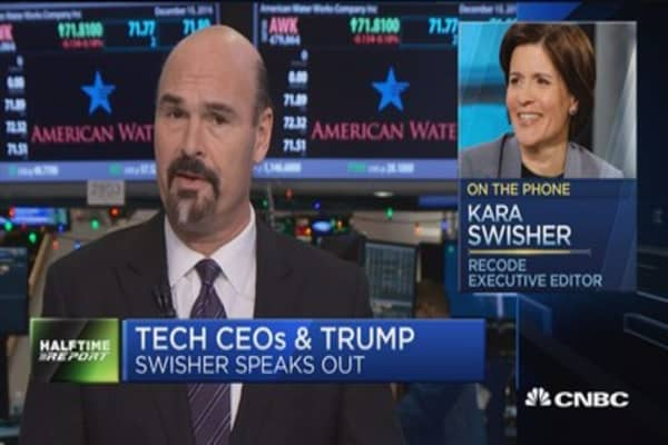 Swisher: Never seen a bunch of 'sore winners' than the Trump people