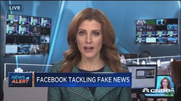 Facebook tackles fake news