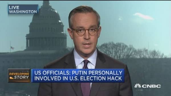 US officials: Putin personally involved US election hack