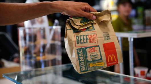 McDonald's to test home delivery in Florida.