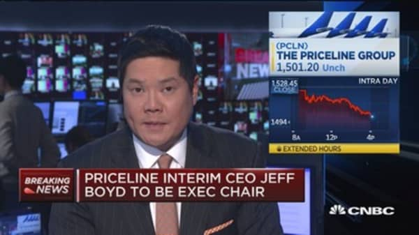 Priceline names Glenn Fogel as new CEO