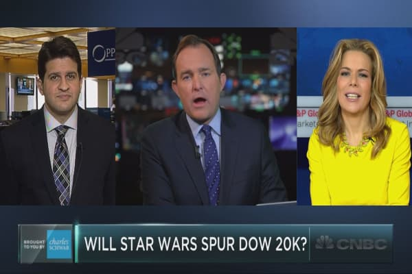 Could Star Wars drive the Dow to 20,000?