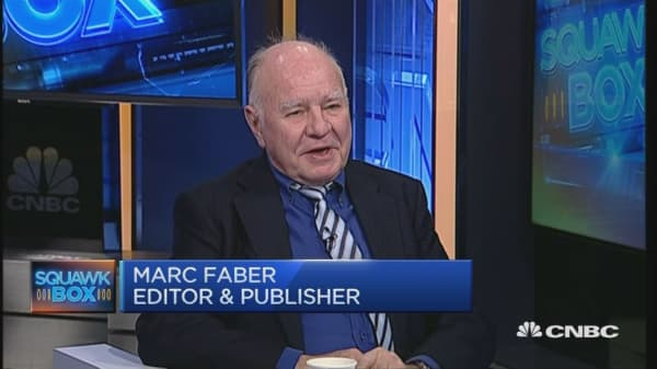 Marc Faber: Trump better for markets but...