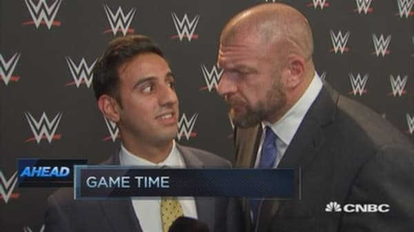 When CNBC's Arjun Kharpal met Triple H
