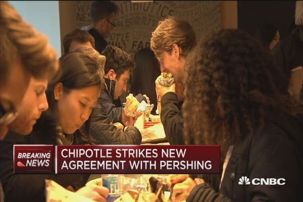 Chipotle names four new board members