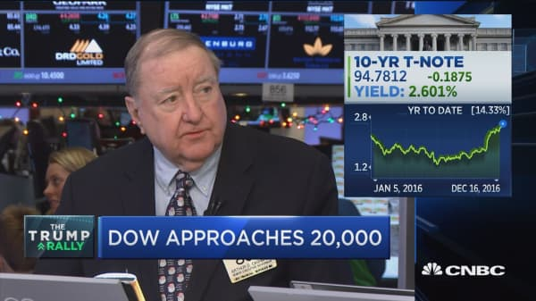 Let's hope Dow 20K not a struggle like Dow 10K: Cashin