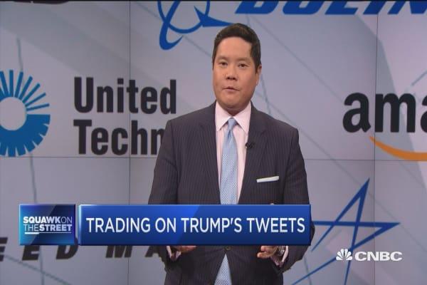 Trading on Trump's tweets