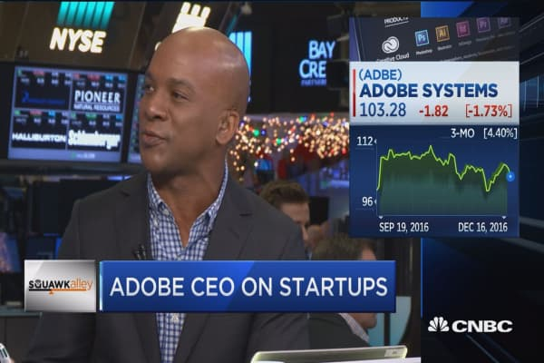 Adobe CEO: Mobile is a large opportunity for us